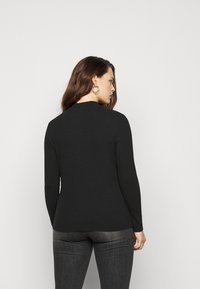 Even&Odd Curvy - Long sleeved top - black - 2