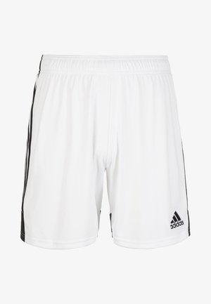TASTIGO - Sports shorts - white/black
