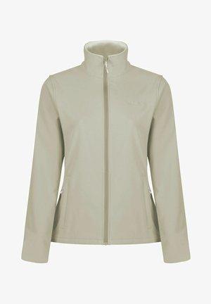 Soft shell jacket - taupe
