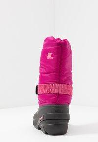 Sorel - YOUTH FLURRY - Snowboot/Winterstiefel - deep blush/tropic pink - 4