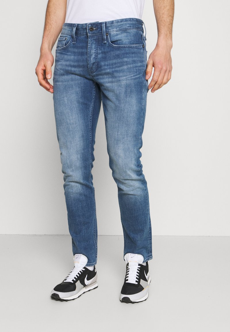 Denham - RAZOR - Straight leg jeans - blue