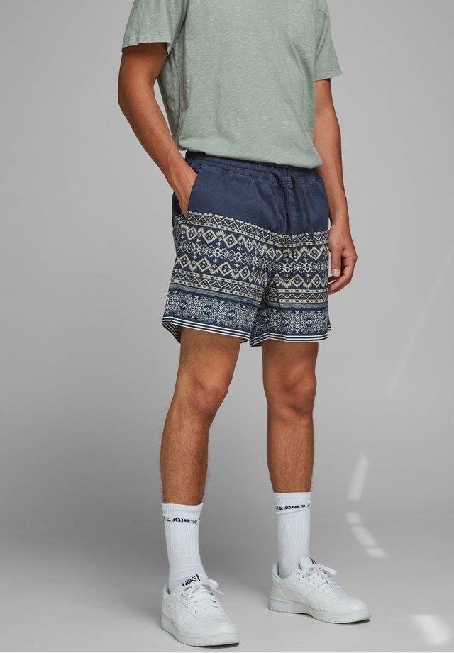 JJITUSCAN JJSHORTS - Shorts - navy blazer