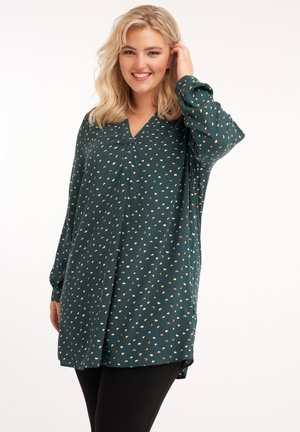 WITH FLORAL PRINT - Tunic - multi-color