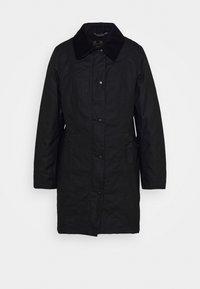 Barbour - BELSAY WAX JACKET - Light jacket - black - 5
