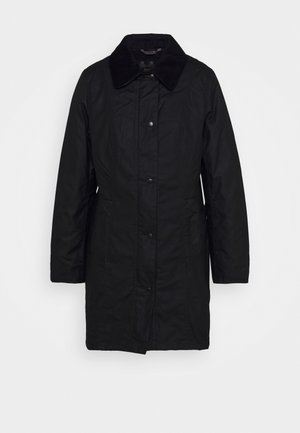 BELSAY WAX JACKET - Lehká bunda - black