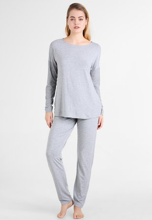 NATURAL ELEGANCE SET  - Pyjama set - grey melange