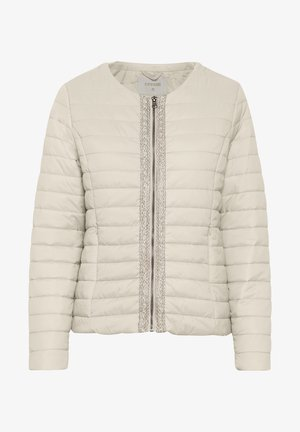 CREAM  - Light jacket - eggnog