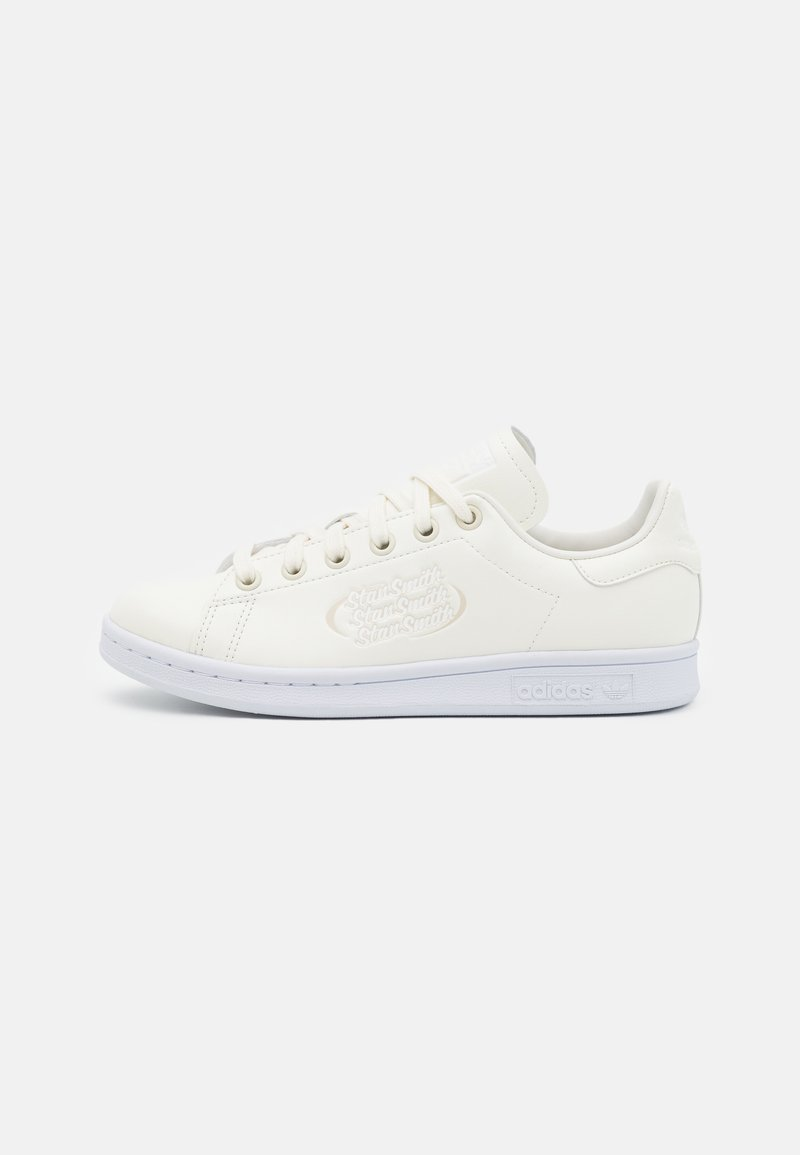 adidas Originals - STAN SMITH UNISEX - Zapatillas - offwhite/footwear white/clear brown