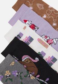 Monki - POLLY SOCK 5 PACK - Ponožky - multi-coloured - 1