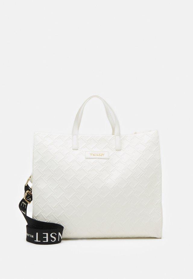 Shopper - bianco ottico