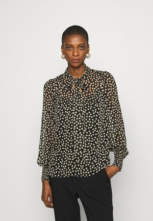 LONG SLEEVE TIE NECK - Blouse - multi