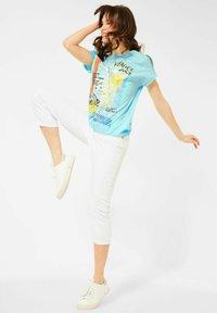 Cecil - Print T-shirt - türkis - 1