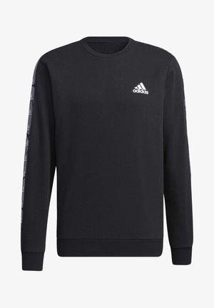 ESSENTIALS TAPE SWEATSHIRT - Sweatshirt - black