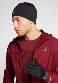 ASICS - RUNNING PACK SET UNISEX - Gloves - performance black - 1