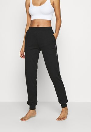LOVE TO SLOUNGE - Pyjama bottoms - black