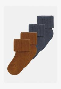 Name it - NBMRARIO 4 PACK - Socks - dark slate/monks robe - 0