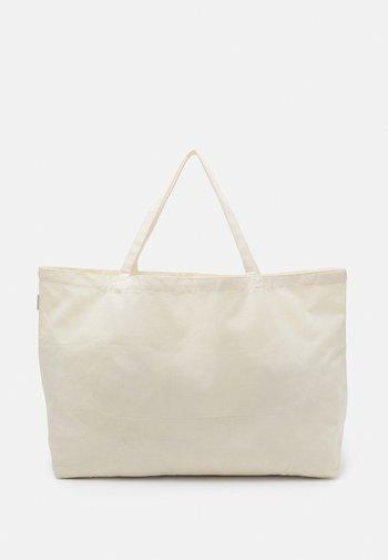 SHOPPER UNISEX - Shoppingväska - beige