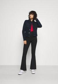 Tommy Jeans - VIVIANNE - Denim jacket - denim dark - 1