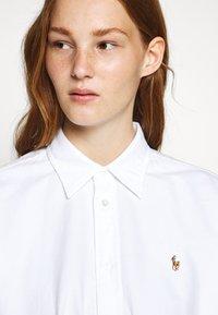 Polo Ralph Lauren - LONG SLEEVE CASUAL DRESS - Skjortekjole - white - 4