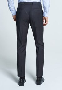 Strellson - MERCER - Suit trousers - anthracite mottled - 3