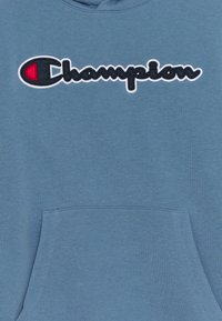 Champion Rochester - LOGO HOODED UNISEX - Mikina - blue-grey - 2
