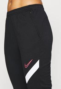 Nike Performance - DRY ACADEMY PANT - Joggebukse - black/white/hyper pink - 5