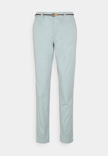 SLIM - Trousers - light aqua green
