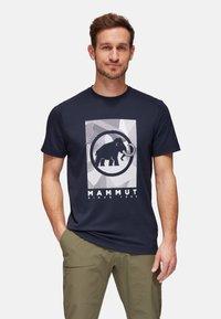 Mammut - TROVAT  - T-shirt print - marine - 0