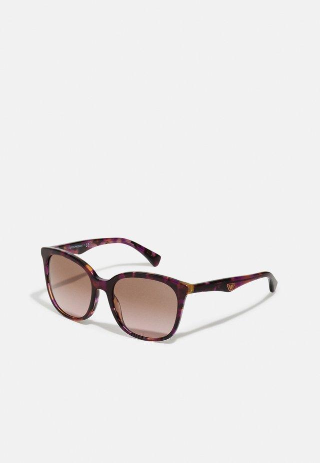 Solbriller - havana violet
