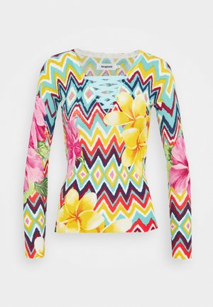 Long sleeved top - multicoloured