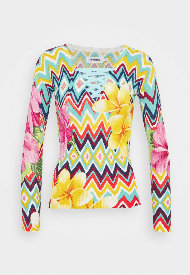 Desigual - SAVA - Long sleeved top - multicoloured
