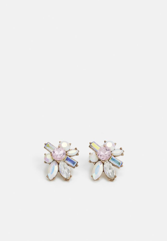 BIFOLIA - Earrings - light pink