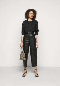 Lovechild - ASTON - Leather trousers - black - 1