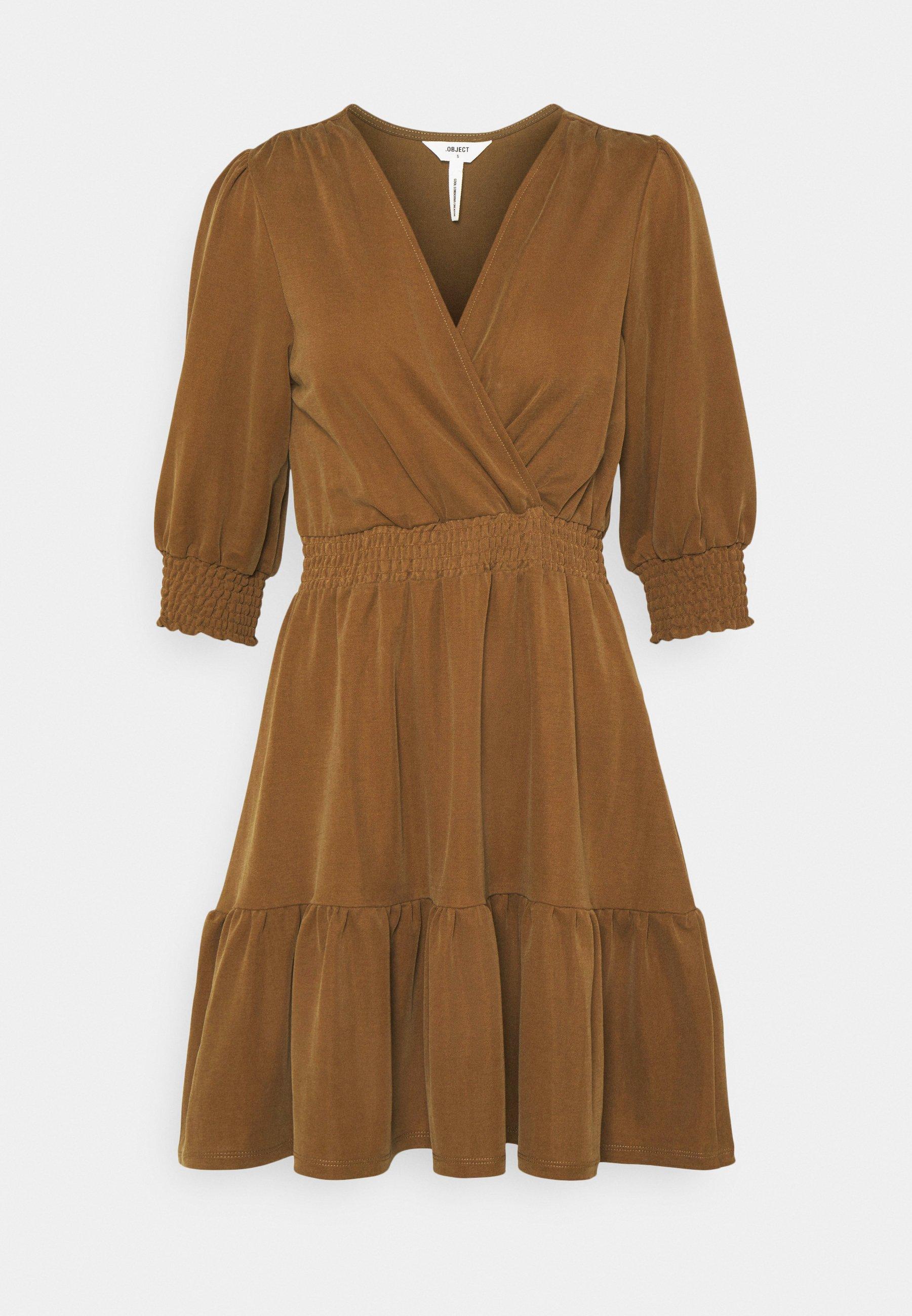 Women OBJDIANE DRESS - Jersey dress