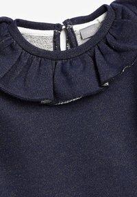 Next - PINK SPARKLE PUFF SLEEVE COLLAR - Jumper - dark blue - 2