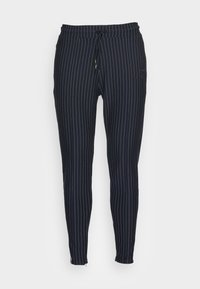 SMART ESSENTIALS - Trousers - navy