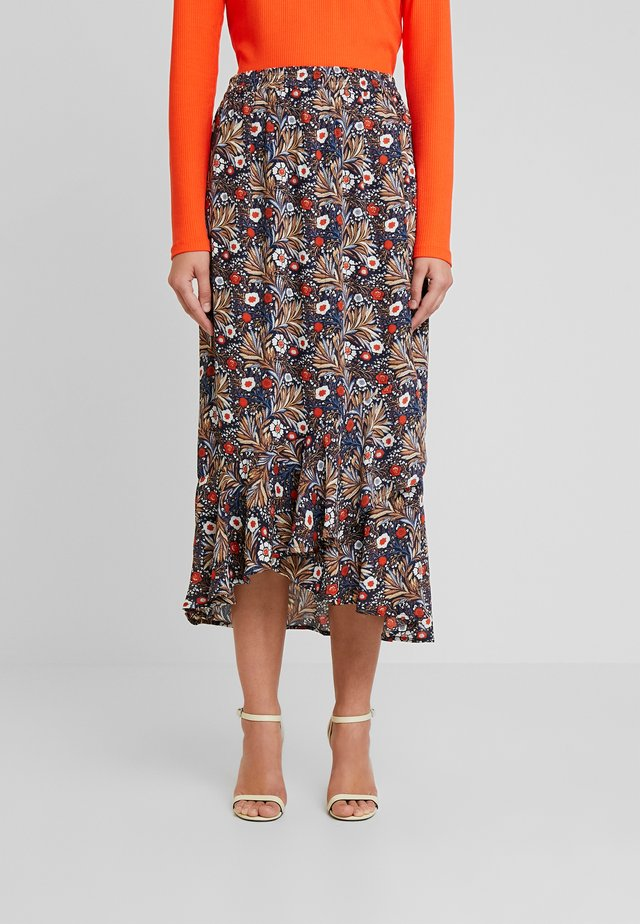 KASELLY SKIRT - A-line skirt - midnight marine