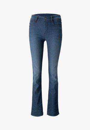 NOXER STRAIGHT - Jeans straight leg - worn in gravel blue