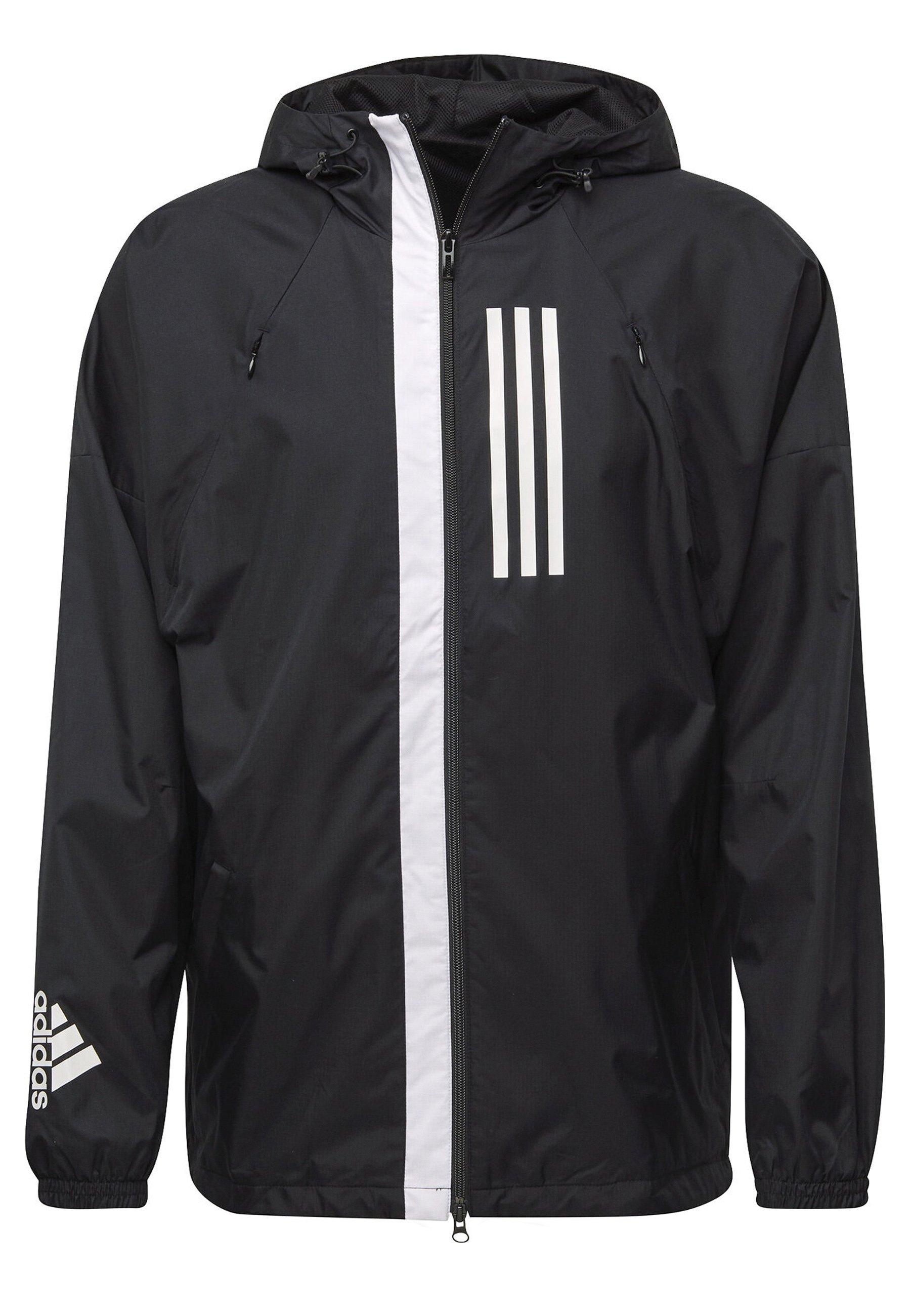 adidas jacke schwarz weiß gestreift