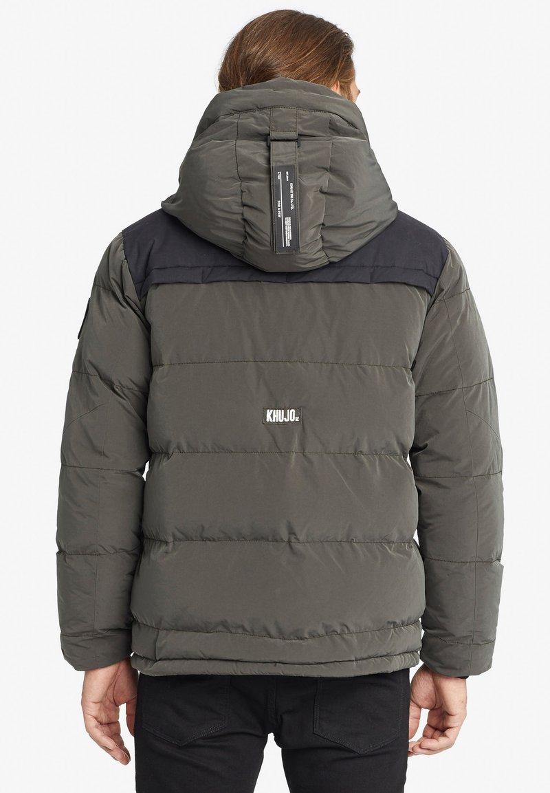 khujo BILL - Winterjacke - dark grey/dunkelgrau 0j825Z