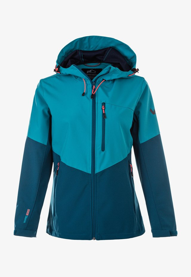 ROSEA W-PRO 8000 - Soft shell jacket - blue coral