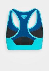 Dynafit - REACT BRA - Reggiseno sportivo con sostegno medio - neon blue - 1
