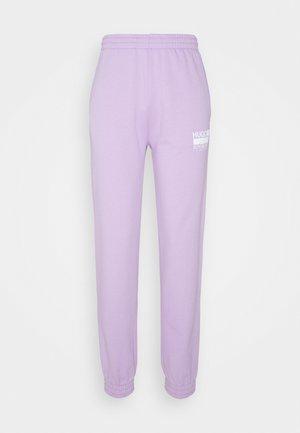 NAJOGGER - Tracksuit bottoms - bright purple
