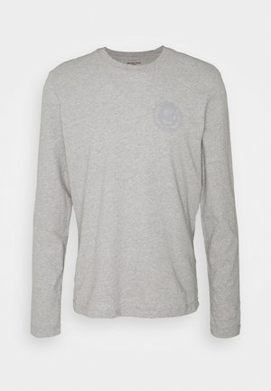 PEACHED LONGSLEEVE - Pyžamový top - heather grey