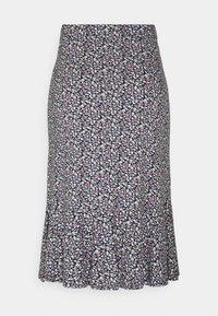 edc by Esprit - MIDI SKIRT - Pencil skirt - navy - 1