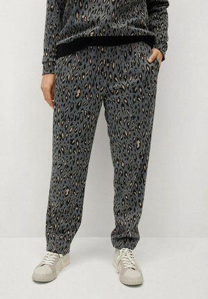 TRENDY - Tracksuit bottoms - grau