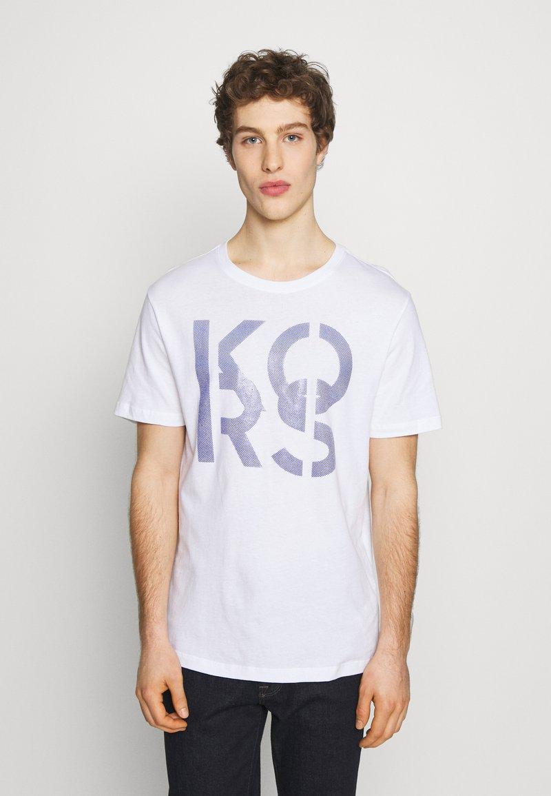 Michael Kors - STACKED - Print T-shirt - white