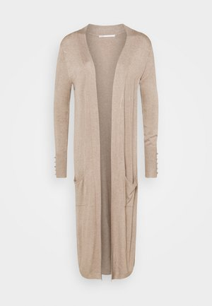 ONLCECILIA LONG CARDIGAN - Strickjacke - sand