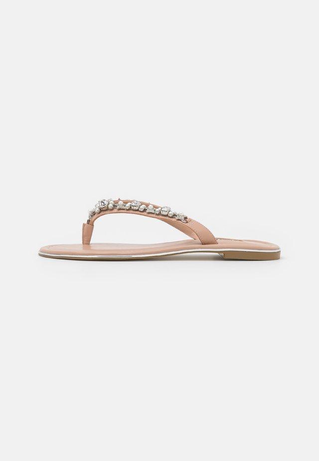 NOELE - T-bar sandals - nude