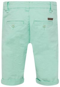 WE Fashion - WE FASHION JUNGEN-SLIM-FIT-CHINOSHORTS - Shorts - green - 1